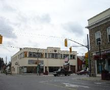 View of street corner; Rideau Heritage Initiative 2006