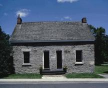 Built by Thomas McKay for his workmen in 1837.  Used as a school in the early 1800s.; City of Ottawa 2005