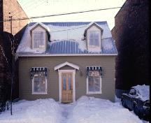 A rare surviving example of a typical workingman's house in pre-Confederation Ottawa; City of Ottawa 2005