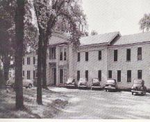 Chipman Memorial Hospital, formerly located on the park grounds; Town of St. Stephen