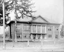 Fort Langley Community Hall circa 1931.; Township of Langley, Serial No.1175