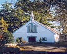 Exterior view, St. Michael and All Angels Church.; District of Saanich, 2004.