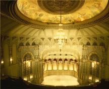 Interior view of the Orpheum Theatre National Historic Site of Canada.; Parks Canada Agency / Agence Parcs Canada
