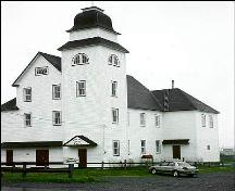 Exterior photo, main facade, Loyal Orange Lodge, Bonavista.; HFNL 1998