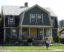 Exterior Photo of the Taylor-Growe House; City of Windsor, Nancy Morand