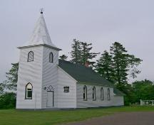 Showing front elevation; Holy Trinity Alma, June, 2007