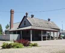 Markerville Creamery (July 2003); Alberta Culture and Community Spirit, Historic Resources Management, 2003