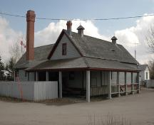 Markerville Creamery (April 2006); Alberta Culture and Community Spirit, Historic Resources Management, 2006