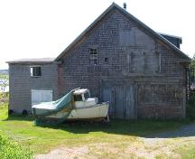 Former boat building shop; Province of New Brunswick
