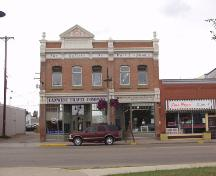 The M and J Hardware Building Provincial Historic Resource, Lacombe (July 2003); Alberta Culture and Community Spirit, Historic Resources Management, 2003