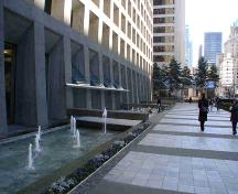 Exterior view of the MacMillan Bloedel Building; City of Vancouver, 2006