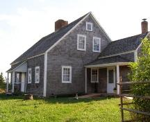Front Profile with Summer Kitchen Side Profile, Rosebank Cottage, New Ross, Nova Scotia, 2007.; Heritage Division, Nova Scotia Department of Tourism, Culture and Heritage, 2007.
