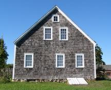Side elevation, Rosebank Cottage, New Ross, Nova Scotia, 2007.; Heritage Division, Nova Scotia Department of Tourism, Culture and Heritage, 2007.