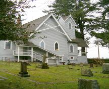 Exterior view of Christ Church, 2004; City of Surrey 2004
