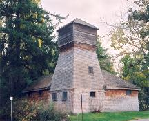 Exterior view of the Hamsterley Farm Water Tower, 2004; District of Saanich, 2004