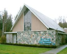 Exterior view of Colebrook United Church, 2004; City of Surrey, 2004