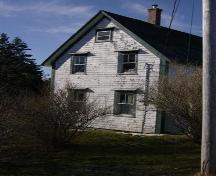 Side elevation, Bower House, Upper Port La Tour, NS, 2008.; Department of Tourism, Culture and Heritage, Province of Nova Scotia 2008
