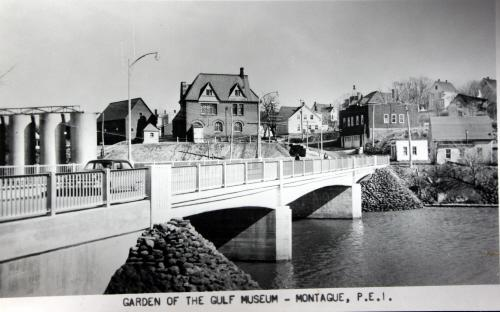 Showing building at right, c. 1960s