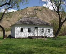 The Factor's House at Historic Dunvegan Provincial Historic Resource (May 2001); Alberta Culture and Community Spirit, Historic Resources Management