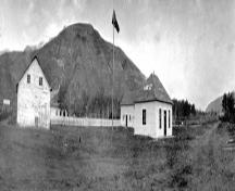 Historic Dunvegan (including the Factor's House) Provincial Historic Resource (date unknown); Provincial Archives of Alberta, B.2828