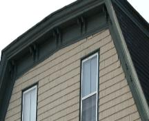 Showing detail of eave brackets; Province of PEI, 2007