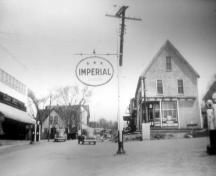 Showing intersection, c. 1940s; Garden of the Gulf Museum Collection