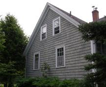 North elevation, David Nauss House, Haddon Hill, Chester, Nova Scotia, 2007.; Heritage Division, Nova Scotia Department of Tourism, Culture and Heritage, 2007.