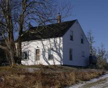 Front elevation, Knowles House, Barrington Passage, NS, 2008.; Department of Tourism, Culture and Heritage, Province of Nova Scotia 2008