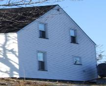 Detail of side elevation, Knowles House, Barrington Passage, NS, 2008.; Department of Tourism, Culture and Heritage, Province of Nova Scotia 2008