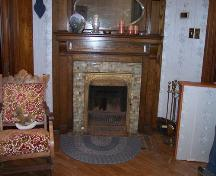 Still operational fireplace, MacMillan-Cameron House, Inverness, NS, 2008.; Heritage Division, NS Dept. of Tourism, Culture and Heritage, 2008.