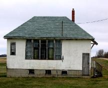1952 school house at Hayward School from east; Government of Saskatchewan, Bruce Dawson, 2004