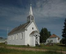 1880 Anglican Church of St. Paul The Apostle and the 1874 Day School Provincial Historic Resource, Fort Chipewyan (June 2006); Alberta Culture and Community Spirit, Historic Resources Management, 2006