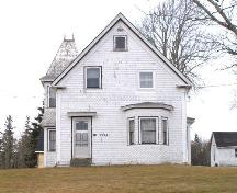 Front elevation of the Knowles Porter House, Arcadia, Yarmouth County, NS, 2008.; Heritage Division, NS Dept. of Tourism, Culture and Heritage, 2008