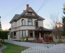 Exterior view of Ambrosia Bed and Breakfast; City of Victoria, 2007