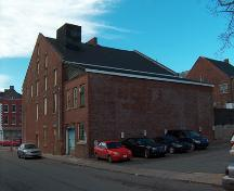 Showing later addition to the back of the building; City of Charlottetown, John Boylan, 2004