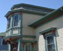 William Smith House, Old Town Lunenburg, Lunenburg Bump dormer, 2004; Heritage Division, NS Dept. of Tourism, Culture and Heritage, 2004