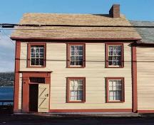 Payne House front facade, 151 Water Street, Harbour Grace; Heritage Foundation of Newfoundland and Labrador 2004