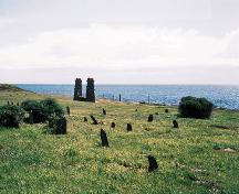 General view of the Chinese Cemetery at Harling Point National Historic Site of Canada, 2000.; Parks Canada Agency/Agence Parcs Canada, 2000.