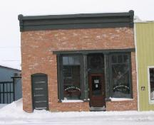 Front view of the Rex Theatre in Whitewood, 2003.; Government of Saskatchewan, J. Kasperski, 2003