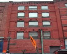 This photograph shows the Water Street façade, 2005.; City of Saint John