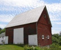Barn, Corkum-Bezanson Home, Chester Basin, Nova Scotia, 2007.; Heritage Division, Nova Scotia Department of Tourism, Culture and Heritage, 2007.