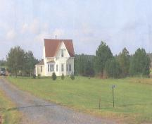 Showing context of house in rural setting; Province of PEI, 2007