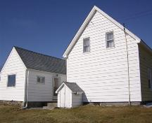 Rear elevation of Gilbert Nickerson House, Shag Harbour, NS 2008.; Department of Tourism, Culture and Heritage, Province of Nova Scotia, 2008