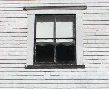 Window detail of the South Canaan Free Baptist Church, South Canaan, Yarmouth County, NS, 2008.; Heritage Division, NS Dept. of Tourism, Culture and Heritage, 2008