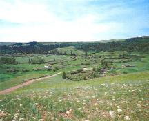 General view of the landscape of Cypress Hills Massacre National Historic Site of Canada.; Agence Parcs Canada / Parks Canada Agency