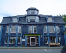 Morash Emporium, Old Town Lunenburg, front façade detail, 2004; Heritage Division, NS Dept. of Tourism, Culture and Heritage, 2004