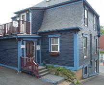 Morash Emporium, Old Town Lunenburg, rear façade, 2004; Heritage Division, NS Dept. of Tourism, Culture and Heritage, 2004