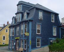 Morash Emporium, Old Town Lunenburg, south and east façades, 2004; Heritage Division, NS Dept. of Tourism, Culture and Heritage, 2004