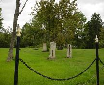 Overall view of the Loyalist Burial Ground; Town of St. Stephen