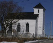 Side elevation, Chapel Hill Museum, Shag Harbour, NS, 2008.; Department of Tourism, Culture and Heritage, Province of Nova Scotia 2008